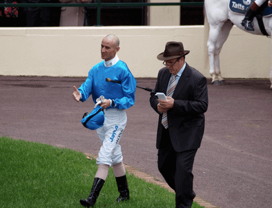 Glen Boss & Robert Smerdon make plans for Stoneblack