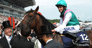 Workforce after his Epsom Derby victory